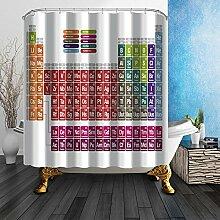 Cinlla® Badezimmer-Dekor Bunte Streifen Serie