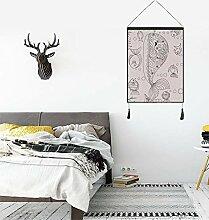Circlefly DIY Muster Wand-Heimtextilien Teppich