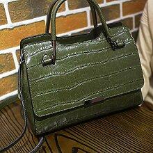 Circlefly Umhängetasche aus Leder Frau Tasche Öl