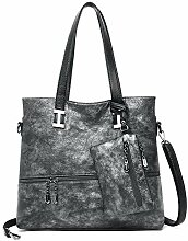 Circlefly Vintage Kuhfell Frauen Tasche