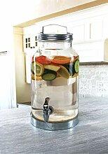 Circleware 69201 Glas-Getränkespender mit