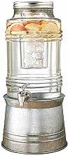 Circleware 92007 Breeze Glas-Getränkespender mit
