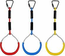circulor 3 STÜCKE Gym Ringe Für Kinder, Schaukel