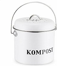 circulor Kompostbehälter, Küchen Bio Mülleimer