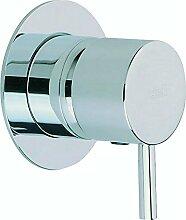Cisal lm00300021Außenseite Mischbatterie Dusche Less Minimal, Chrom