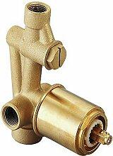 Cisal za00221004Körper eingebaut mischbatterie Badewanne/Dusche, Chrom
