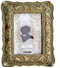 CISOO Bilderrahmen im Vintage-Stil, 2,5 x 8,9 cm,