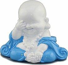 3 kleine Mönche nicht sehen hören sprechen Feng Shui Deko Figuren Buddhamönch