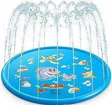 CIVIKY 170cm Splash Kids Sprinklerpad, 67 inch