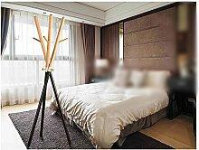 CivilWeaEU- Moderne einfache Massivholz Kleiderständer / Boden Mode kreative hängende Aufhänger / Schlafzimmer Foyer Kleiderständer -Garderobe ( Farbe : 2 )