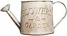 CJFael Garten Gießkanne, Vintage Letters