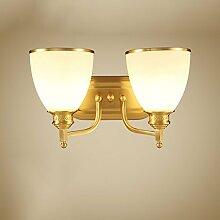 CJH American Country Kupfer Lampe Nachttischlampe
