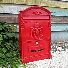 CJH Europäische Landhaus-Briefkasten-Retro-