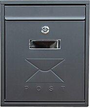 CJH Europäische Mailbox Outdoor Villa Post wasserdicht regendicht Mailbox Trompete Posteingang Haushaltswand