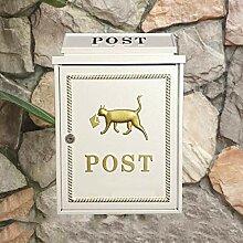 CJH Europäische Mode Nette Briefkasten an der