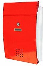CJH Kreative Europäische Mail Box Villa Im Freien Regen Garten Metall Zeitungsbox Hause Im Freien Wasserdichte Wand Pos