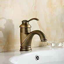 CJK Wasserhahn antiken Messing Wasserhahn