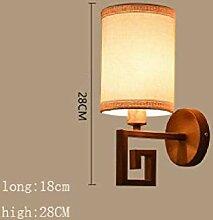 CJSH Wandlampe Schlafzimmer Mit Lampe Gang Gang
