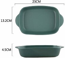 CJUERLS Geschirr Service 7 Farben Keramik Binaural