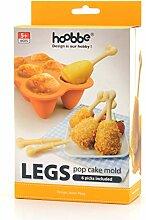 CKB Ltd® Fried Chicken Legs Hühnerbein Silicone