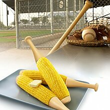 CKB Ltd® Set of 2 - Novelty Baseball Bat Cob