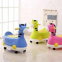 CL- Pony-Form Kinder-Toilette Baby-WC kann die