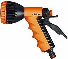 Claber 518458541Ergo Lancia Gun, Dusche, schwarz/orange