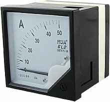 Classic 1,5 AC 0-50A laufenden Messung Square Dial