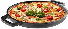 Classic Cuisine Pizzablech aus Gusseisen, 13,25