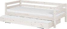 Classic - Einzelbett  - 190 cm mit Ausziehbett -