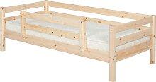 Classic - Einzelbett  - 200 cm mit 1/2