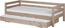 Classic - Einzelbett  - 200 cm mit Ausziehbett -