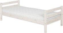 Classic - Einzelbett - 200 cm- Weiß