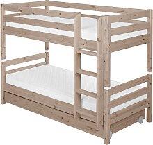 Classic - Etagenbett  mit 2 Schubladen - 200 cm -