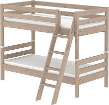 Classic - Etagenbett -  mit schräger Leiter - 190 cm - Terra