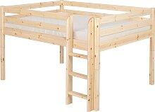 Classic - Halbhohes Bett 140 x 200 cm - Natur