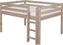 Classic - Halbhohes Bett 140 x 200 cm - Terra