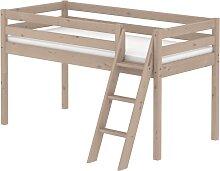 Classic - Halbhohes Bett mit Leiter - 200 cm -