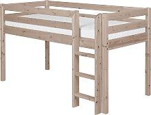 Classic - Halbhohes Bett mit Senkrechter Leiter -
