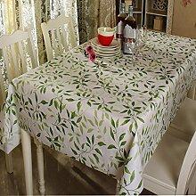 Classic Kunststoff Tischdecke/Wasser und Öl Beweis Mat/PVCTischdecke decke/ Einweg-Tischdecke/ Mode Garten Tischdecke-A 137x180cm(54x71inch)