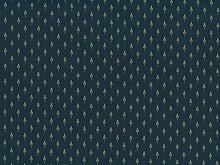 Classic Möbelstoff Cheverny mit Fleckschutz Farbe bleu (blau, dunkelblau, champagner, goldgelb) - Flachgewebe klassisch (Lilie, Uni, Ornament), Polsterstoff, Stoff, Bezugsstoff, Eckbank, Couch, Sessel, Hussen, Kissen