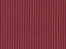 Classic Möbelstoff Villandry mit Fleckschutz Farbe Rouge (rouge, rot, dunkelrot) - Flachgewebe klassisch (Streifen), Polsterstoff, Stoff, Bezugsstoff, Eckbank, Couch, Sessel, Hussen, Kissen