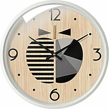 Classic quality Silent Sweep Wanduhr Moderne Holz-