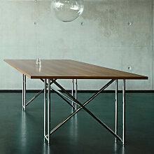 ClassiCon DOUBLE X TABLE Esstisch, Nussbaum