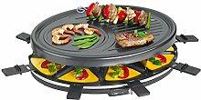 Clatronic RG 3517 Raclette-Grill zum Grillen und