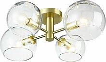 CLAXY Modern Globe Glas E14 Halb-Einbau