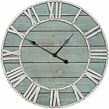 Clayre & Eef 5KL0066 Uhr Wanduhr ca. Ø 70 x 5 cm