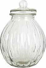 Clayre & Eef 6GL0345 Vorratsglas/Aufbewahrungsglas