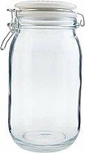 Clayre & Eef 6GL1870 Vorratsglas/Aufbewahrungsglas
