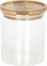 Clayre & Eef 6GL2419S Vorratsglas mit Deckel Ca.